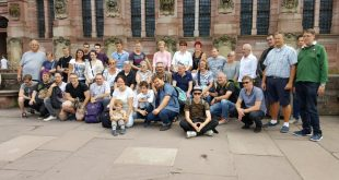 Kerbeburschen auf Sommerfahrt nach Heidelberg
