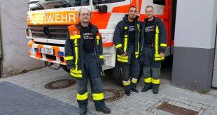 40 Jahre bei der Freiwilligen Feuerwehr