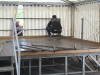 Kerb Zeltaufbau 2009