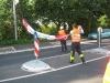 Befestigung der Straßenbanner 2010