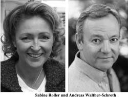 Sabine Roller und Andreas Wllter-Schroth