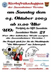 Kerb Flyer Samstag 04.10.2009
