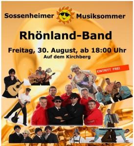 2013 Sossnheimer Musiksommer kl