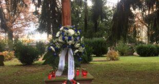 Gedenkfeier am Volkstrauertag 17.11.2019, 11.30 Uhr auf dem Sossenheimer Friedhof