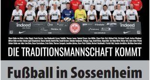 Fussball in Sossenheim am Samstag, den 23.06.2018, ab 10.00 Uhr