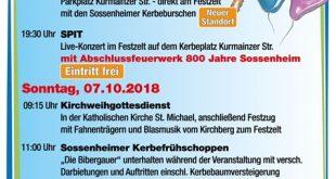 Sossenheimer Kerb 2018