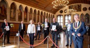Verleihung des Ehrenbriefes des Landes Hessen